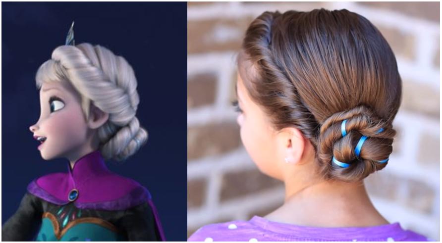 Peinados Para Nina Pelo Corto Best Nina Pelo Recogido With Peinados
