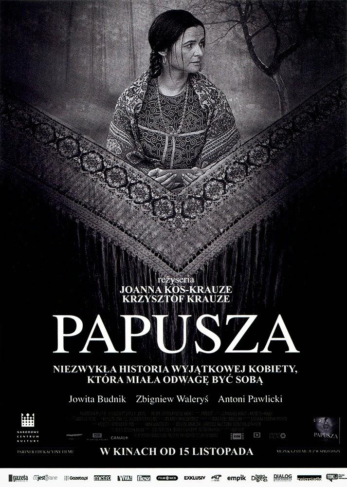 Ulotka filmu 'Papusza (przód)'