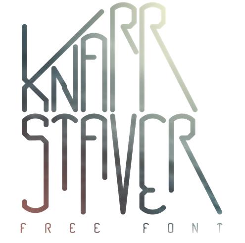 KNARRSTAVER Free Fonts