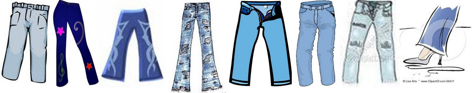 clipart jeans day - photo #12