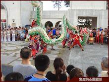 東石漁人碼頭舞龍表演