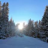 Winterlandschaft im Vinschgau