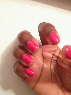 Manicure #7 ~ Pink Fever!!!!