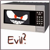 evil microwave cartoon