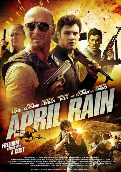 Poster Of English Movie April Rain (2014) Free Download Full New Hollywood Movie Watch Online At Alldownloads4u.Com