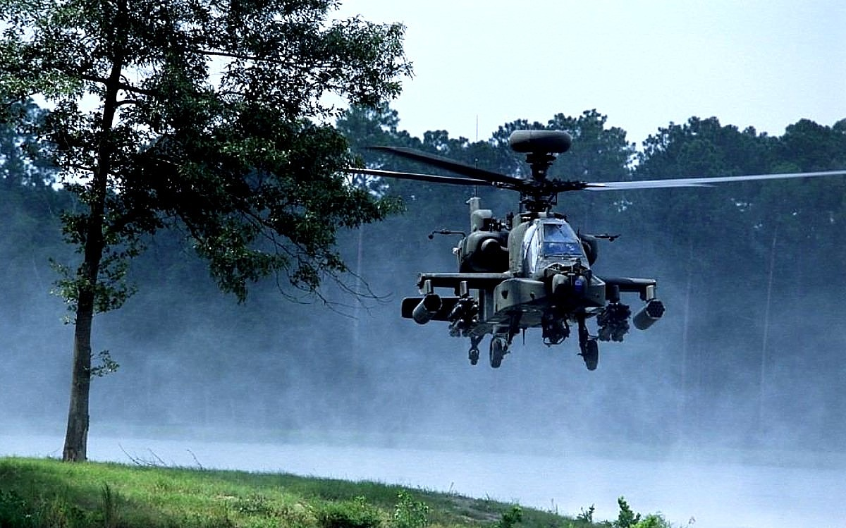 AH-64 Apache Helicopter Wallpaper 4