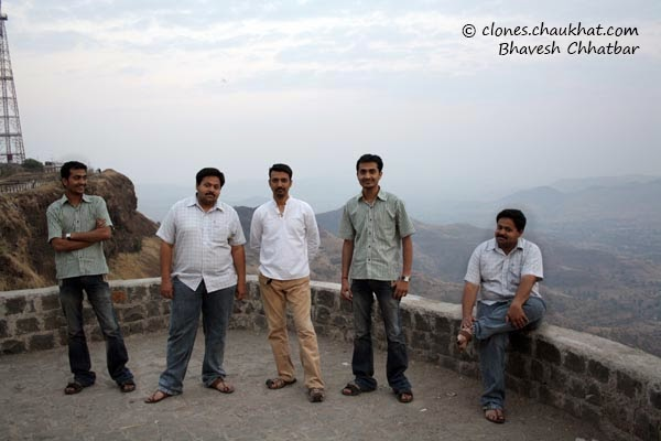Clone photo of Narendra, Ashish, Ravi, Narendra and Ashish