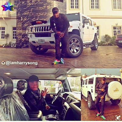 Photo:Look at Harrysongs' customized hummer