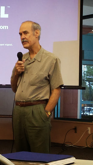 Gene Fernandez Presenting at RGVHGS