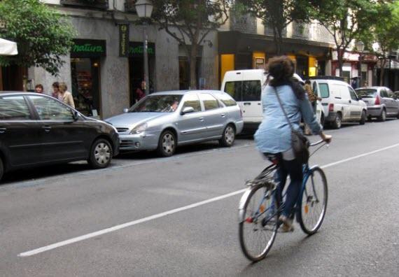 Circular por Madrid en bici no sólo no es imposible sino que es muy gratificante. Imagen cortesía Miguel Ángel