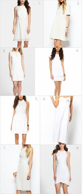 spring white dresses