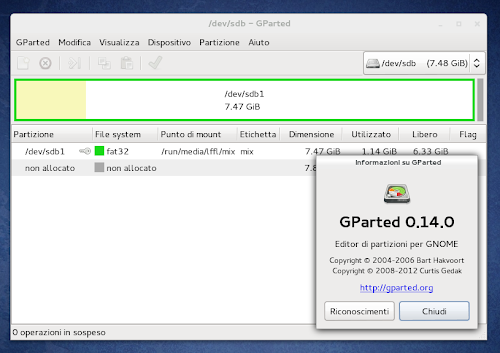 GParted 0.14.0