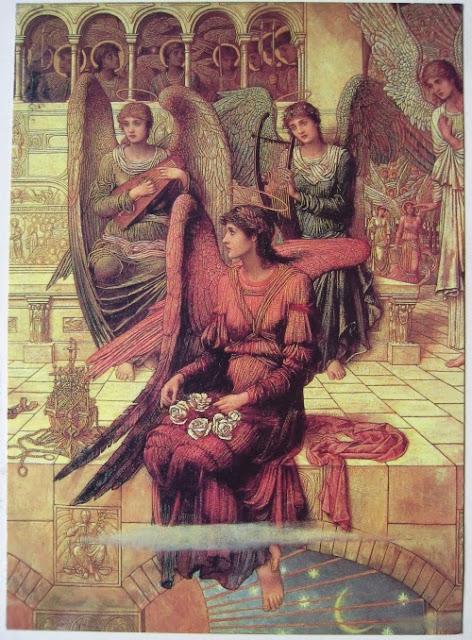 John Melhuish Strudwick - The Ramparts of God`s House