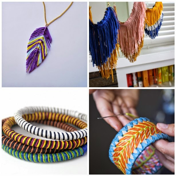Fall Feather and Fringe Jewelry Tutorials