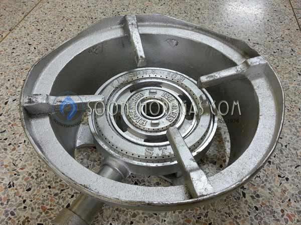 เตาเร่ง ชนิดเตาแก๊สแรงดันสูง KB10 พร้อมกระทะ (เซ้งไถ่)