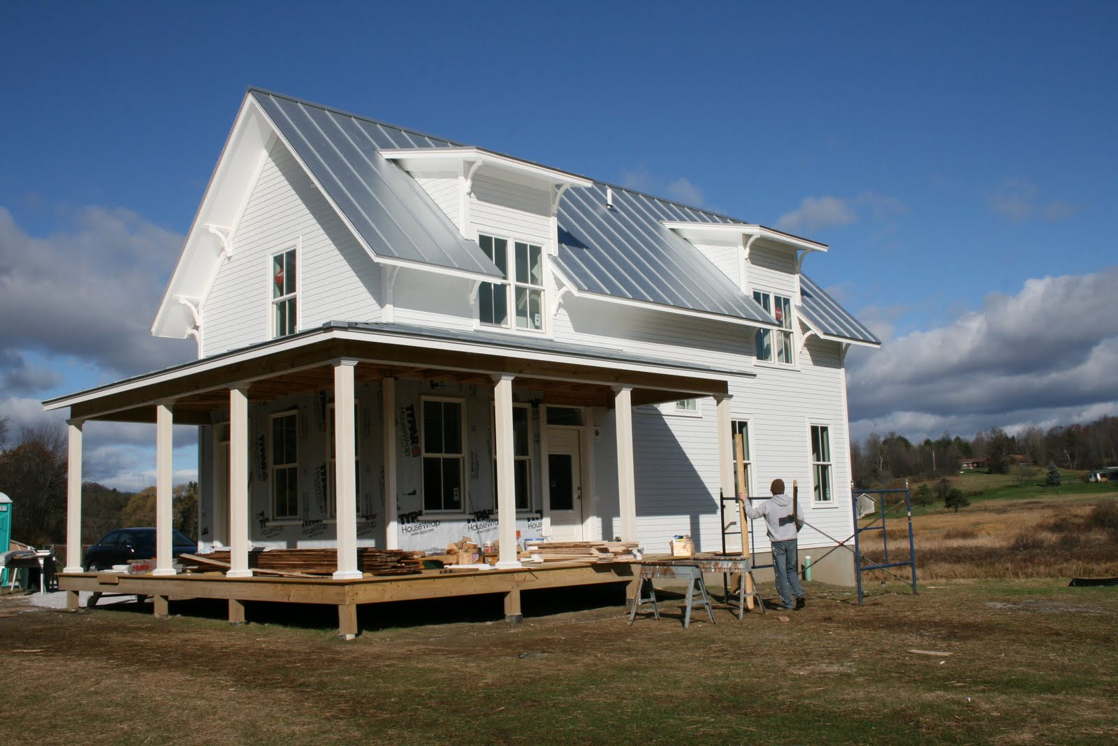 Fine little blog dreaming about living on a modern farm for Building a farmhouse