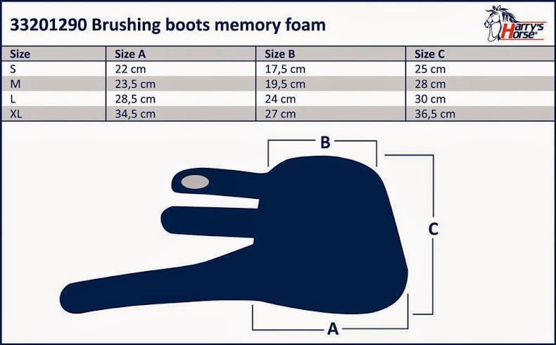 sizing for memory foam boots