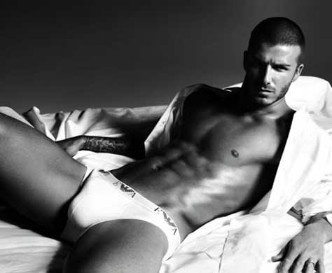 David Beckham, sexy