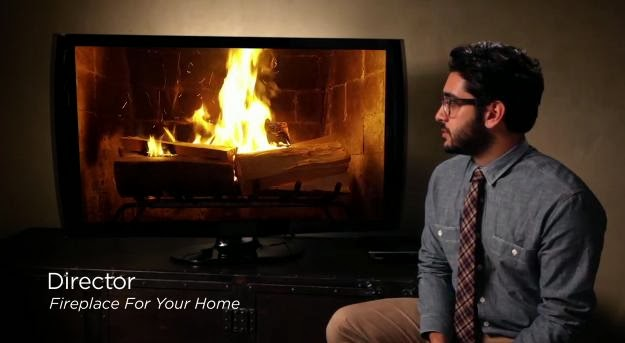 Fireplace For Your Home, The Hilarious Netflix Yule Log Trailer