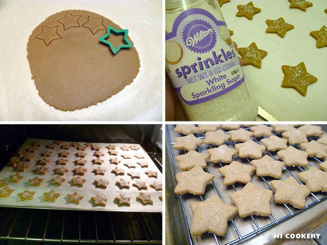 Brown Sugar Shortbread Stars