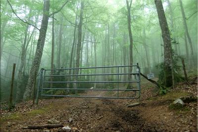 Cruzamos un nuevo portón