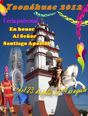 CARTEL DE FERIA YAONAHUAC 2012