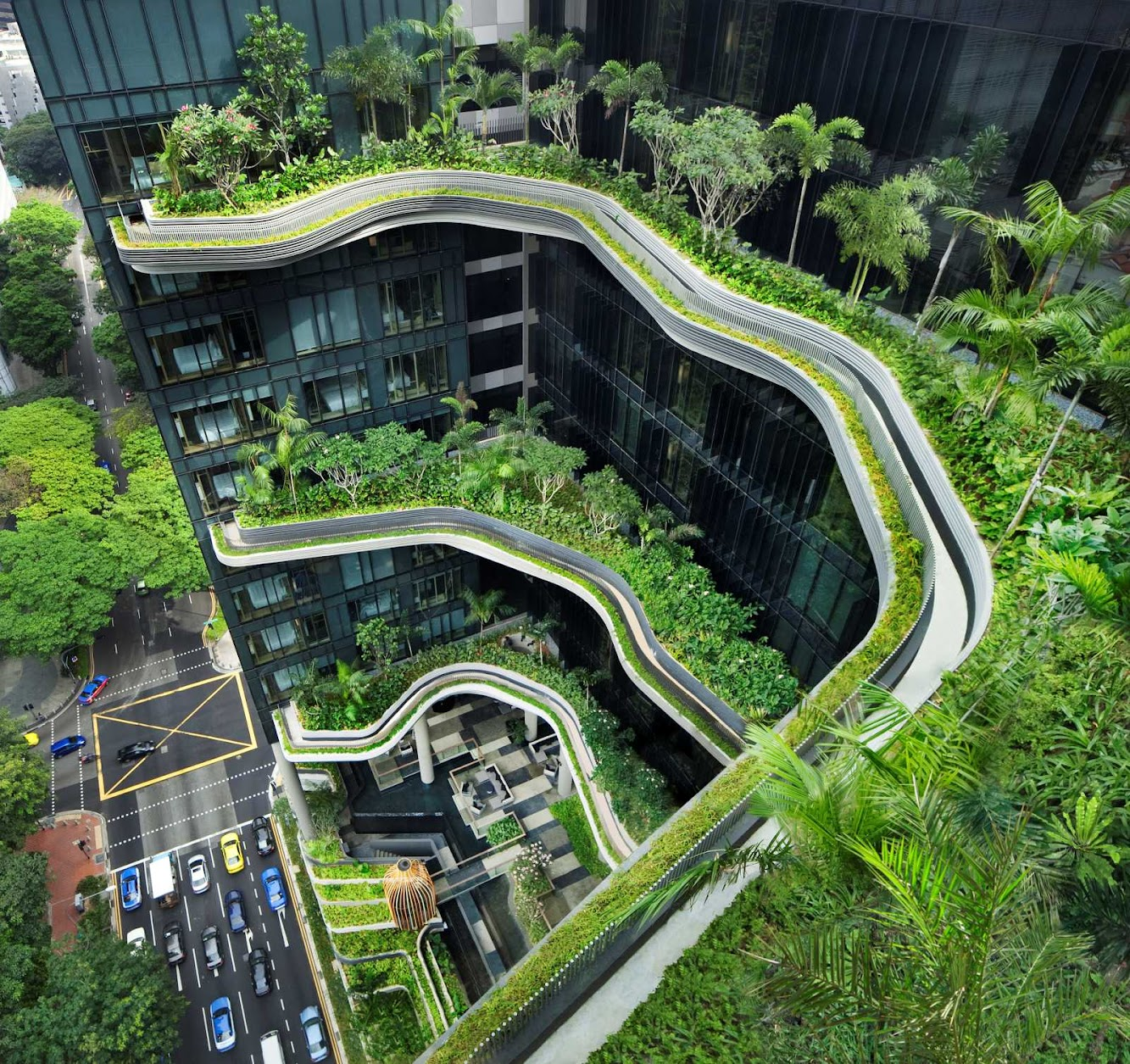 Singapore: Parkroyal On Pickering by Woha