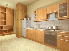 Tủ Bếp BESM0103, Tu bep go tu nhien, tủ bếp gỗ tự nhiên, tủ bếp gỗ công nghiệp, ...