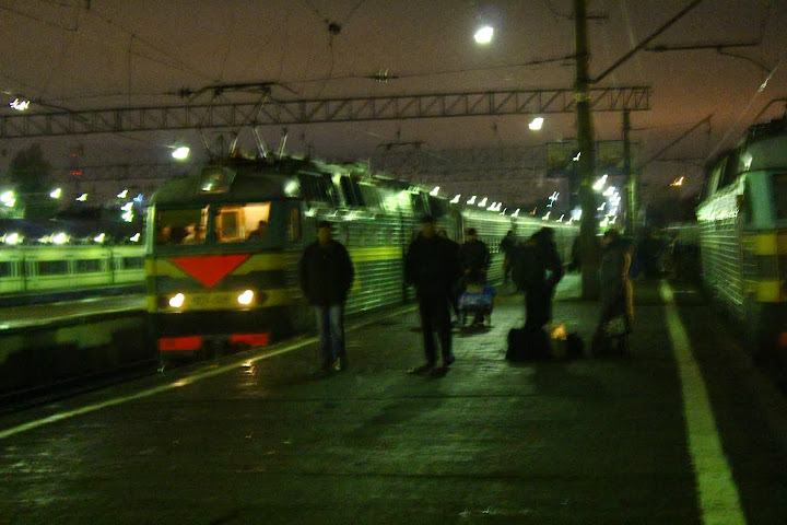 Trans Siberian arrive Moscow 4am