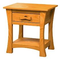 Zen Nightstand with Shelf