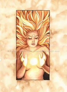 Sol Goddess Of The Sun Image
