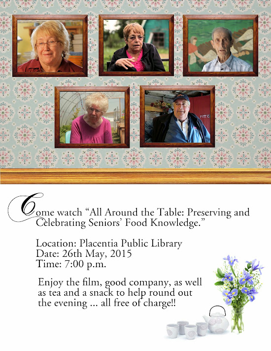 Come to the Library at 2 to watch a film about Sr. Food know-how