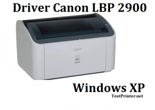 download Canon 2900 for Windows XP 32 bit printer's driver