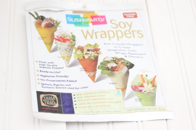 photo of a package of soy wrappers