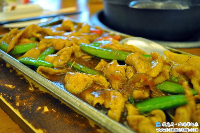 黑公雞風味餐廳鐵板豬柳