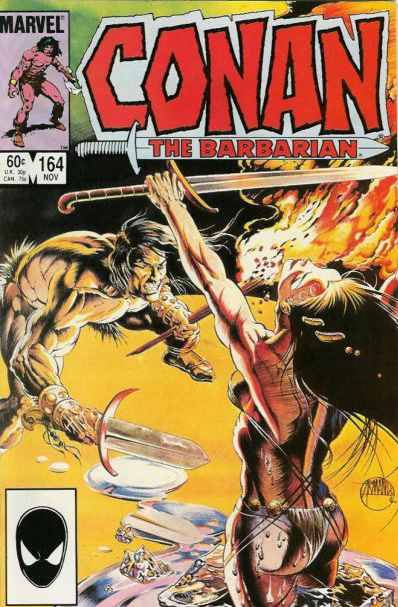 Conan the Barbarian #164 cover