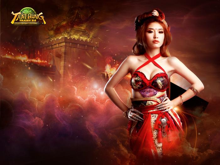 Khổng Tú Quỳnh trong cosplay Thất Hùng Tranh Bá
