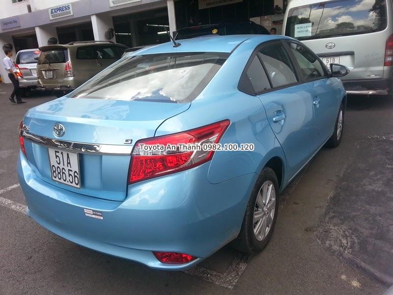 Khuyến Mãi Giá Bán Xe Ôtô Toyota Vios 2015 Mới 6
