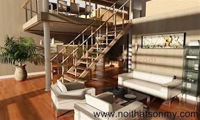 Mẫu thiết kế nội thất phòng khách 342