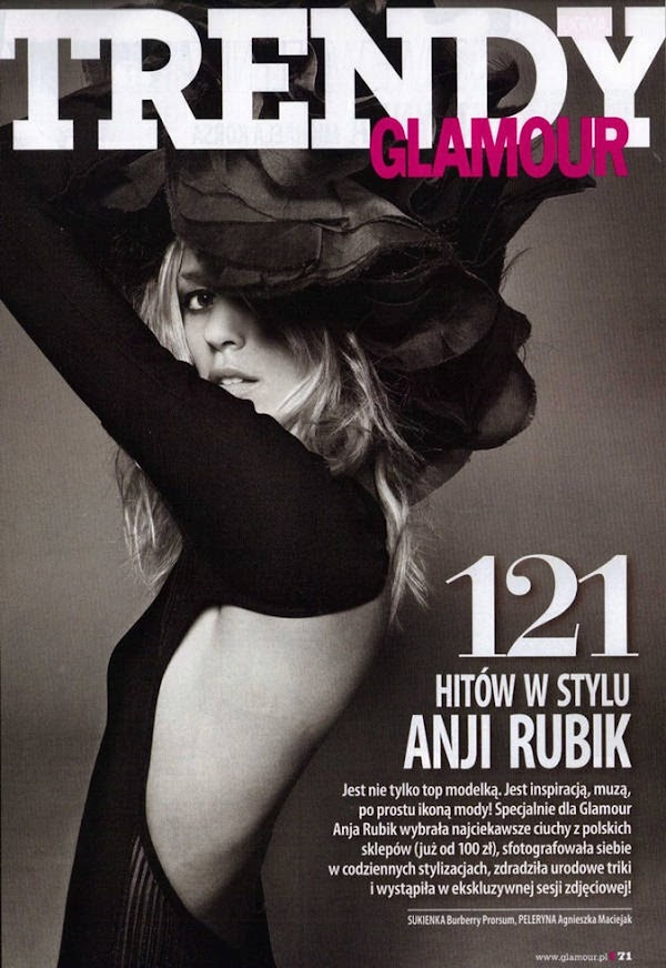 Anja Rubik Glamour Poland (March 2011)(fashion girl-7photos)7