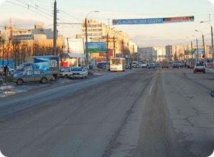 Ограничение движения на улице Можайского