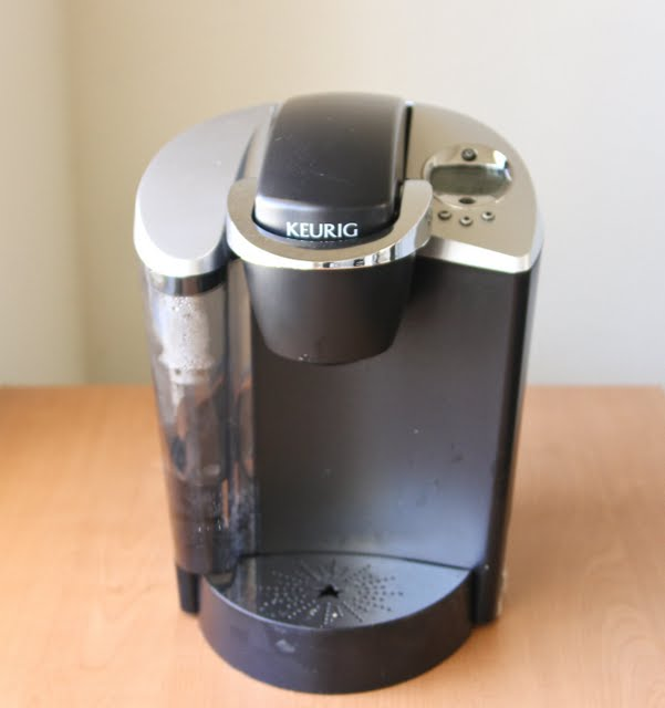 photo of a keurig coffee maker