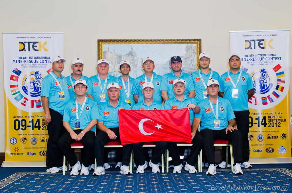 Команда Турции TTK / ZONGULDAK