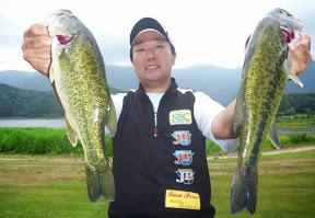 4位:初澤一嘉プロ(4本 2280g)