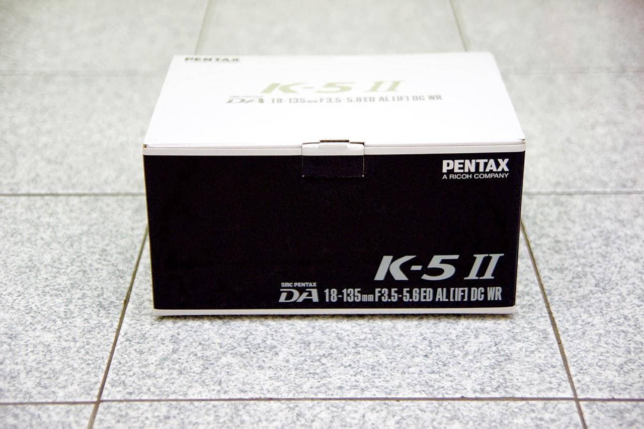 [開箱]K-X 升級 K-5II
