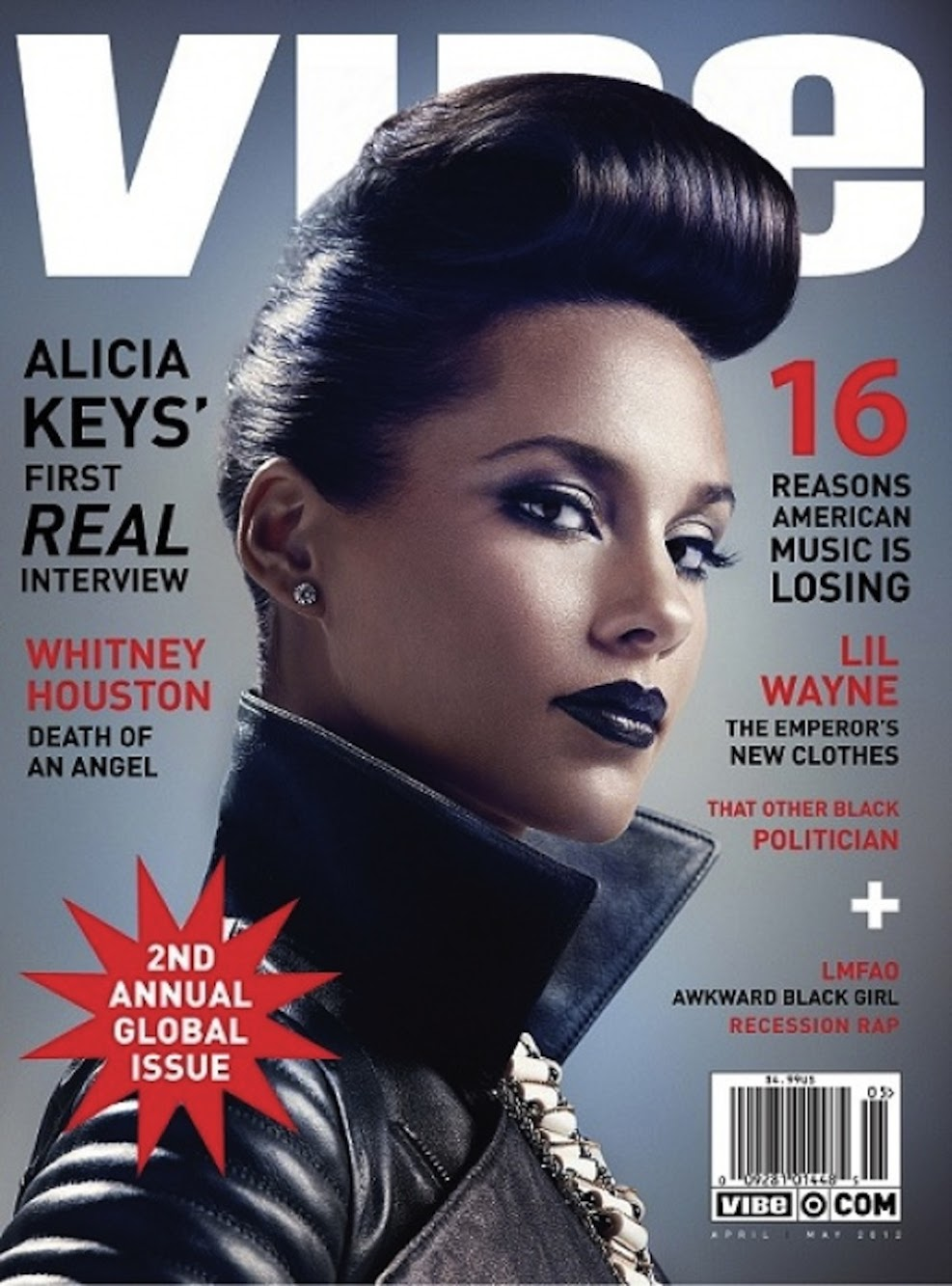 Alicia Keys rocks Anita Quansah London in Vibe Magazine