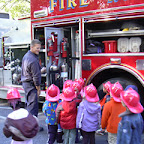 Quality is: experiencing visits to our school by the Blue Ash Fire Department during Fire Prevention Week, an annual event that promotes 'I want to be a Firefighter when I grow up.'