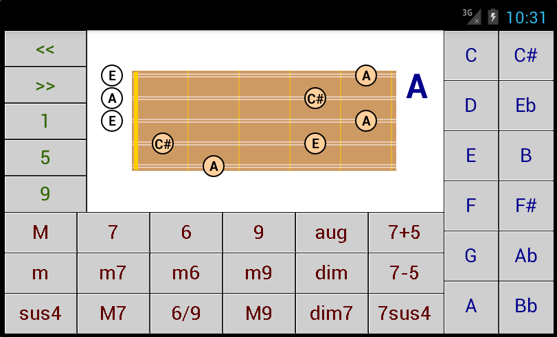 Dg Charango Chord Patterns Dg Android Applications