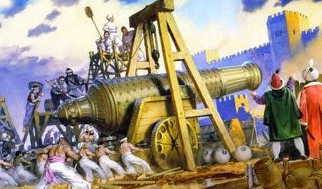 Осадная турецкая артиллерия