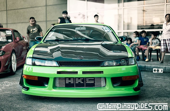 Mean Green Nissan S14 Silvia Custom Pinoy Rides Car Photography Philippines Philip Aragones THE aSTIG pic15